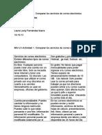 MIV-U1-Actividad 1. Comparar Los Servicios de Correo Electrónico