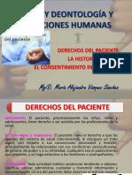 TEMA 3 - DERECHOS DEL PACIENTE, LA HISTORIA CLINICA, EL CONSENTIMIENTO IMFORMADO.pdf