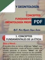 Tema 1 - Conceptos Fundamentales en Deontología Profesional