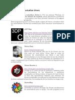 Programas Para ActualizarDrivers