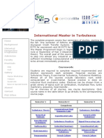 International Master on Turbulence