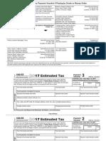 Federal 1040 Estimate Vouchers