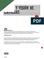 Misión y Visión de Empresas