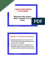 Graphical Sag Options