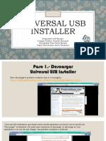 Expocision de Universal USB Installer