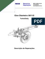 DAILY 4 X 2 MR 6 2002-01-30 Eixo Dianteiro 5811-2