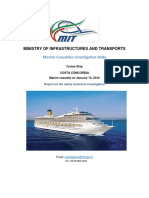 REPORT-Investigation Report (Italian Ministry of Infrastructures & Tranports)