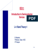 EE311 L4 Band Theory 1