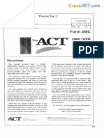Practice Test 2 Form 2MC 080659