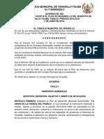Plan de Desarrollo 2016 2019 Acuerdo No. 008 VENADILLO