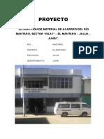 Proyecto Extracción Mantaro i