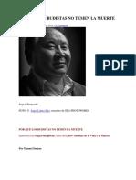 Por Qué Los Budistas No Temen La Muerte - Sogyal Rimpoche