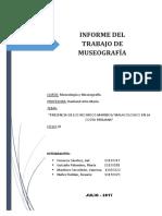 Informe Sobre Museologia