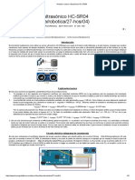 Arduino_ Sensor Ultrasónico HC-SR04