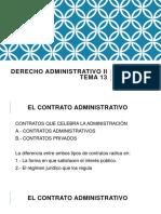 Derecho Administrativo II Tema 13