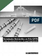 Terminales Retráctiles en Frio QTII 3m
