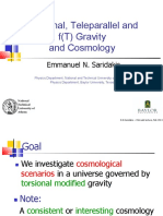 Torsional Teleparallel and f T Gravity and Cosmology