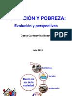 UNMSM - Población y Pobreza, 17 de Julio 2013