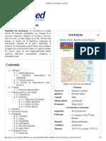 República de Azerbaiyán - EcuRed