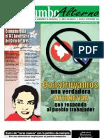 Rumbo Alterno, periódico del Movimiento al Socialismo