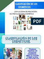 CLASIFICACION DE LOS COSMETICOS.pptx