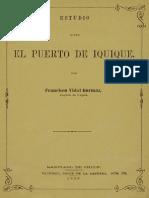 Vidal, Francisco (1880) - El Puerto de Iquique