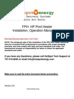 FPH-HP Install Manual V2.8