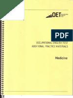 OET - Medicine - Booklet