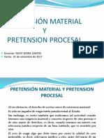Pretensión Material y Pretensión Procesal