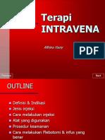 Terapi Intravena