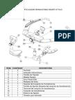 Partes Del Articulador Semiajustable Bioart a7 Plus