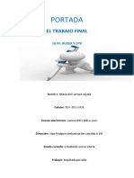 EL El El TRABAJO FINAL de Prueba de Apt e Int II