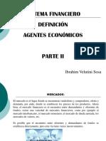 Sistema Financiero, Definición, Parte II