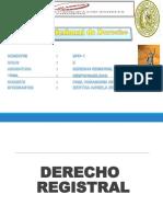 DERECHO REGISTRAL.ppt