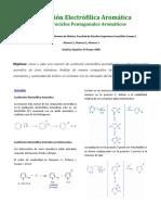 Sustitución Electrófilica Aromática en Tiofeno.2