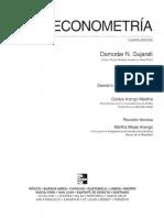 GUJARATI. Econometría