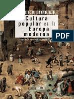 Cultura Popular en La Edad Media - Peter Burke