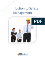 Introduction to Safety Management