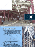 Evaluation of Performance Appraisal of Infra Structural Industry- A