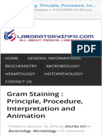 Gram Staining Principle, Procedure, Interpretation and Animation LaboratoryInfo.com