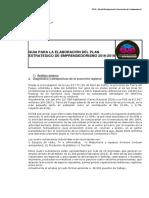 Plan Estrategico de Emprendedorismo UNTDF