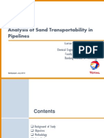 Analysis of Sand Transportability in Bekapai Pipelines (presentation)