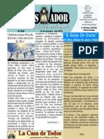 """2010-08-15 Boletín Semanal """"ElConquistador"""", una producción de la Casa de Todos"""