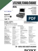 GV-D200/D200E/D800/D800E