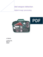 Concealed Weapon Detection Using Digital Image Processing