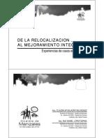 De La Relocalización Al Mejoramiento Integral Manizales
