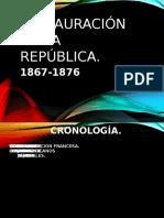 LA RESTAURACIÓN DE LA REPÚBLICA.pptx