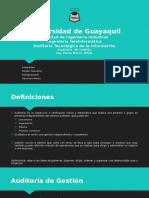 Auditoría de Gestión -GeovannyR - JandriR - MarvinG