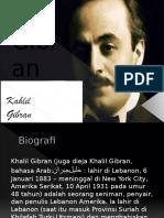 1883-1931 Kahlil Gibran