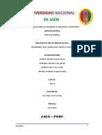 Informe Guanábana